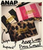 『ANAP』ロゴ・2パターンパスケース