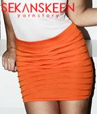 ラインデザインタイトスカート