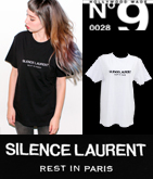 【HOLLYWOOD MADE】MR.SILENCE LAURENT Tシャツ