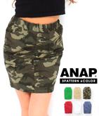3パターンシンプルハイウエストタイトスカート