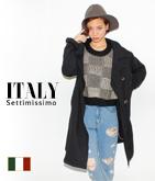 ITALY スウェットチェスターロングジャケット