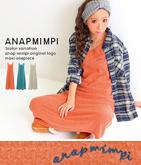 anapmimpiオリジナルロゴ刺繍マキシワンピース