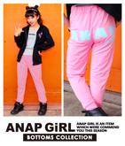 「ANAPGiRL」ロゴパンツ