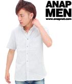 レインボードットドビーシャツ