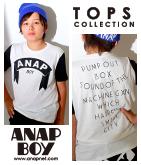 ANAPBOYロゴTシャツ