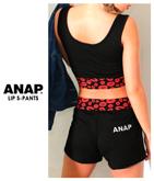 『ANAP』ロゴ刺繍×リップ柄ショートパンツ【別売りSETUP】