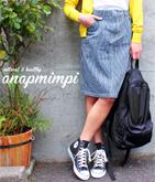 2パターンデニムタイトスカート