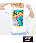 90sプリントTシャツ