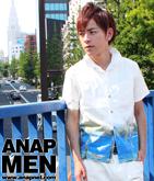 ブロードプリントシャツ3パターン(SET-UP別売り)