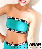 テープ『ANAP』ロゴチューブブラトップ【別売りSETUP】