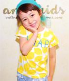 2パターンフルーツ柄Tシャツ