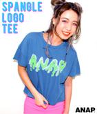 『ANAP』ロゴスパンコールTシャツ
