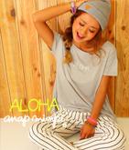 ALOHA ロゴTシャツ