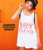 """BOY TOKYO""ロゴビッグタンクTOP"