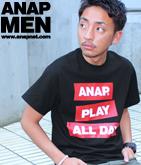 ANAPロゴBOX Tシャツ