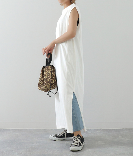 タック入りノースリワンピース(ワンピース・ドレス/ロングワンピ) | Factor=