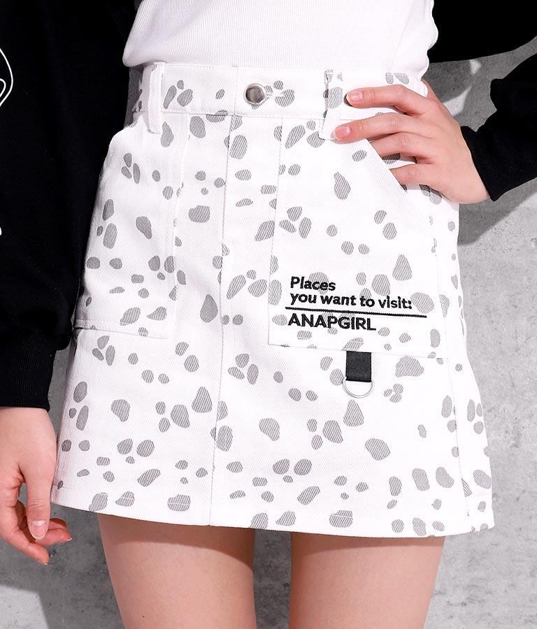 2パターンインパン付スカート(ボトムス・パンツ /ショートパンツ・スカート) | ANAP GiRL